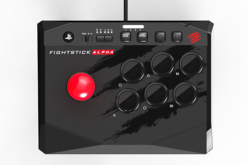 Mad Catz,1万円で買えるPS4&PS3両対応の小型アケコン「Arcade FightStick Alpha」を8月17日に国内発売