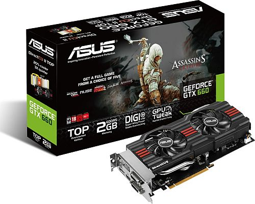 ASUS,Assassin's Creed IIIフル版などのクーポンが付いたGTX 670&660