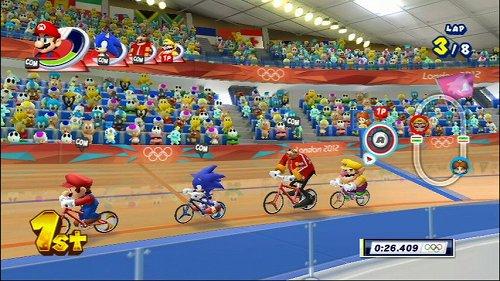 Wii版「マリオ&ソニック AT ロンドンオリンピックTM」が12月8日に発売。マリオとソニックがオリンピック正式種目や「ドリーム競技」に挑む