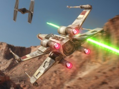 [gamescom]Electronic Arts初のVRタイトル「Star Wars Battlefront Rogue One: X-wing VR Mission」について,プロデューサーに話を聞いた