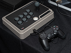 [TGS 2018]PCとPS4,PS3,Xbox One,Xbox 360,Switch,Androidに対応のアケコンが堂々登場