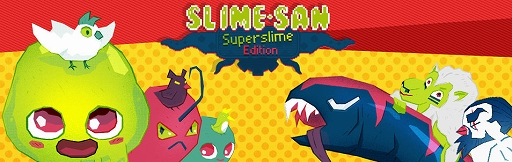 PS4/Switch向け2Dアクションゲーム「Slime-san:Superslime Edition」が本日配信スタート