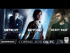 [GDC 2019]PS専用だった「Detroit: Become Human」「BEYOND: Two Souls」「HEAVY RAIN」のPC版がEpic Games Storeで発売決定